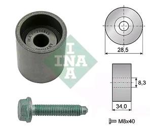 INA 532 0197 10 Ролик   ГРМ A*VW* 1,9TDI 1,4TDI параз.  Глад. с/болт.
