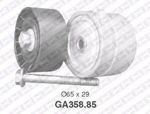 SNR GA358.85 Ролик   Руч.рем. FT*DB/BVO/BVA / ALF* натяж.  Глад. с/мех. с/болт.
