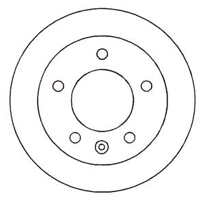 NRG N22001 Диск торм.   Передн. с/в  MB*SPR / VW*LT 2/3t  (F-07517)