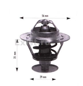 VERNET TH6311.82J ТЕРМОСТАТ TO*AV/CRL / LX*   82C  D=56mm