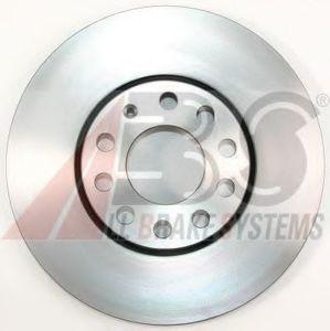 ABS 16098 Диск торм.   Передн. с/в  A*100/A4 2.6-2.8 A*A6 97-  ( в коробке 2 шт.)