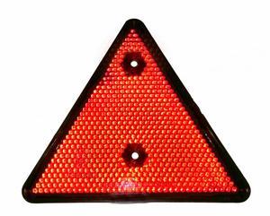 AUTOMAX 18169J Отражатель треугольный жёлтый  ДЛЯ ПРИЦЕПА