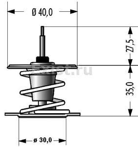 MRD 202-92 ТЕРМОСТАТ OP*               92C  D=48mm