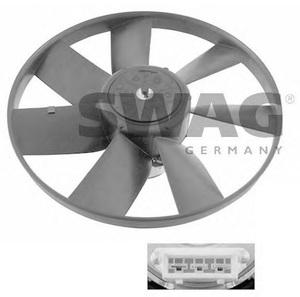 SWAG 99906993 ВЕНТИЛЯТОР   Сист.охлаж. Рад. VW*G3 P3/P4  3-конт. D=305mm 60Bt, 2.5kg