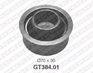 SNR GT384.01 Ролик   ГРМ KI*SPG2 2,0 натяж.  Глад. без/кроншт. с/эксц.