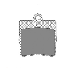 NRG N20052 КОЛОД.ДИСК. MB*W210/W203  ЗАД