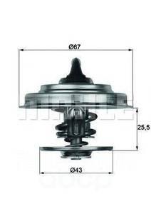 MAHLE TX1887D ТЕРМОСТАТ MB*OM102-104 2.0-3.2B  87C  D=67mm