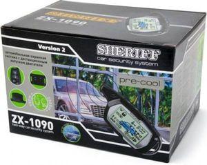 SHERIFF ZX-1090 Сигнализац.   С автозапуском SHERIFF   ZX-1090  упр.900м/оповещ.2000м