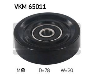 SKF VKM65011 Ролик   ГРМ HYN*ACC / KI*RIO натяж.  Глад.
